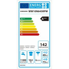 LAVADORA SAMSUNG ADD WASH WW10N645RPW/EP A+++ 1400RPM