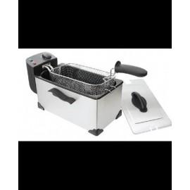 Freidora Confortec Inox DF3220X 3L capacidad 2200W 220x390x230mm