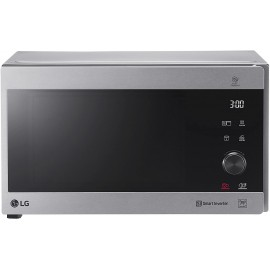 Microondas Grill Inox Smart Inverter 1000W de 25 litros MH6565CP Smart Inverter,Easy Clean