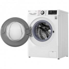 Lavadora LG F4WV7009S1W, 9kg, 1400 rpm, 14 programas, Turbowash, Serie 700, Blanco